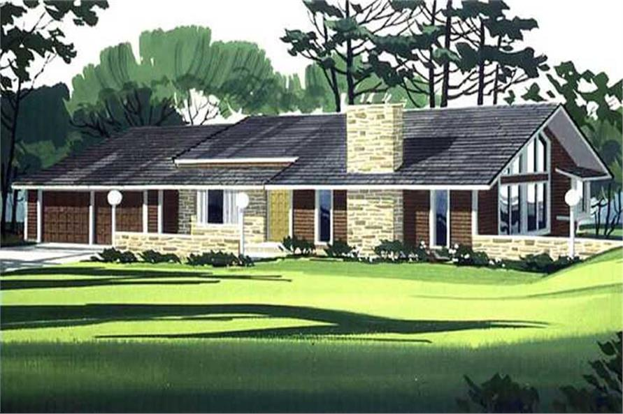 Color Rendering from these house plans