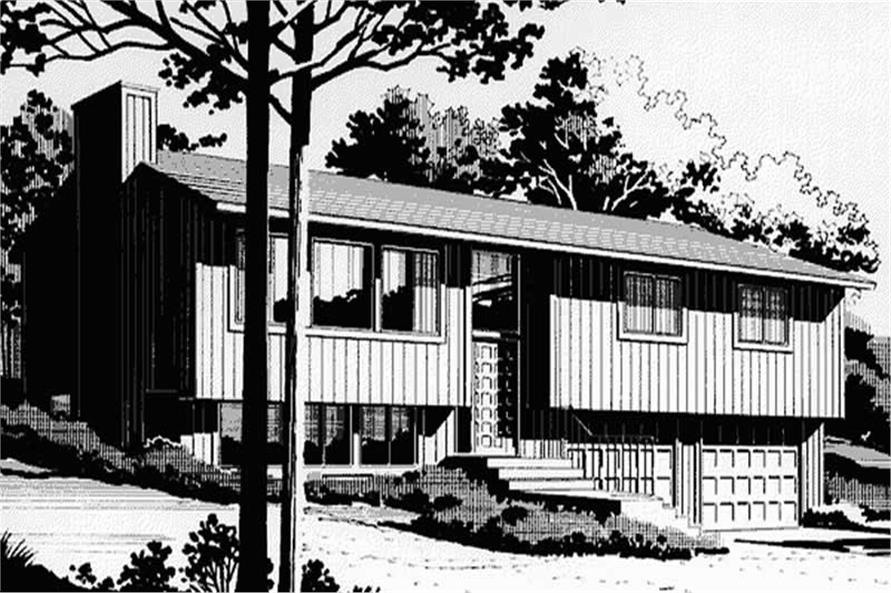 Front Elevation of LS-H-1332-4