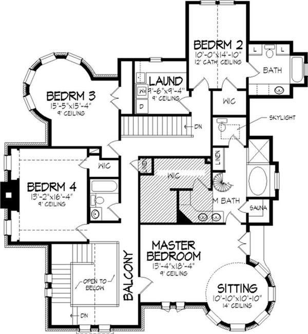 Castle like home design plans over 5000 house plans for Castle style house plans