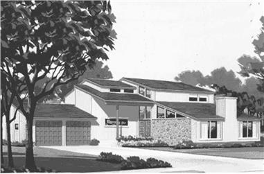3-Bedroom, 2451 Sq Ft House Plan - 146-2618 - Front Exterior