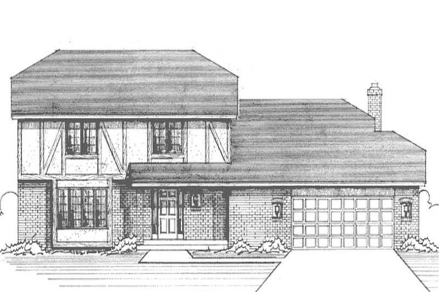 Main image for house plan # 21242