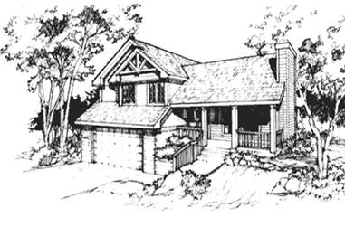3-Bedroom, 1847 Sq Ft Country House Plan - 146-2634 - Front Exterior