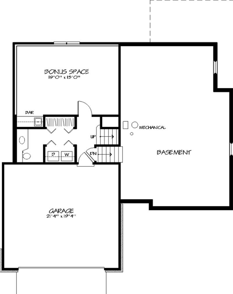 House plan 146 2634 3 bedroom 1847 sq ft country for Multi level floor plans
