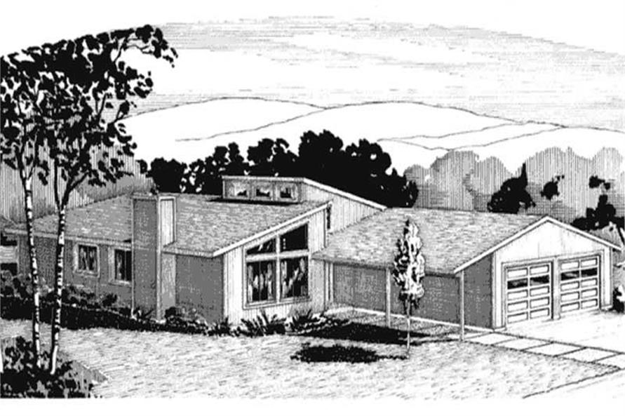 Main image for house plan # 21278