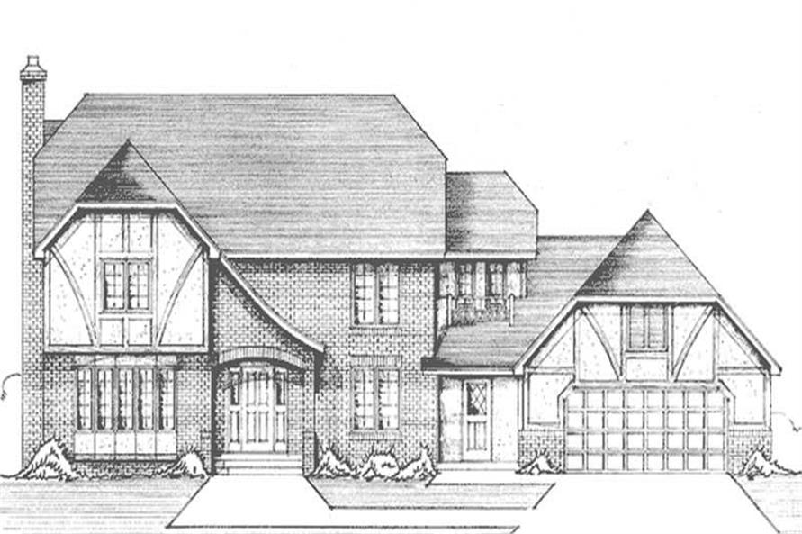 Main image for house plan # 21267
