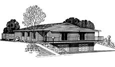 Main image for house plan # 21261