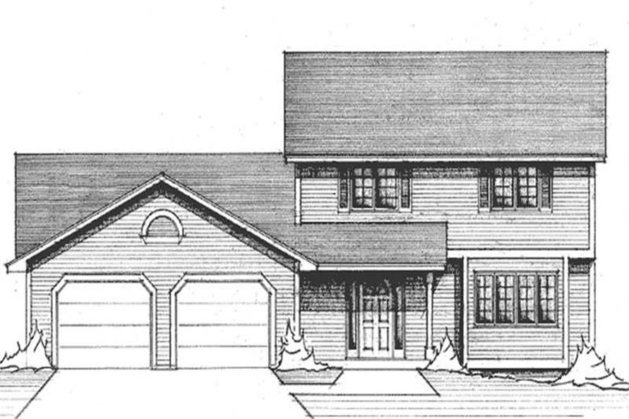 Main image for house plan # 21259