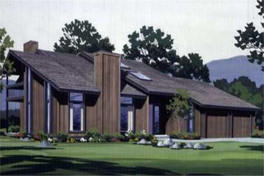 4-Bedroom, 2899 Sq Ft Vacation Homes Home Plan - 146-2658 - Main Exterior