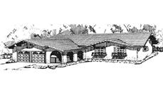 Main image for house plan # 21287