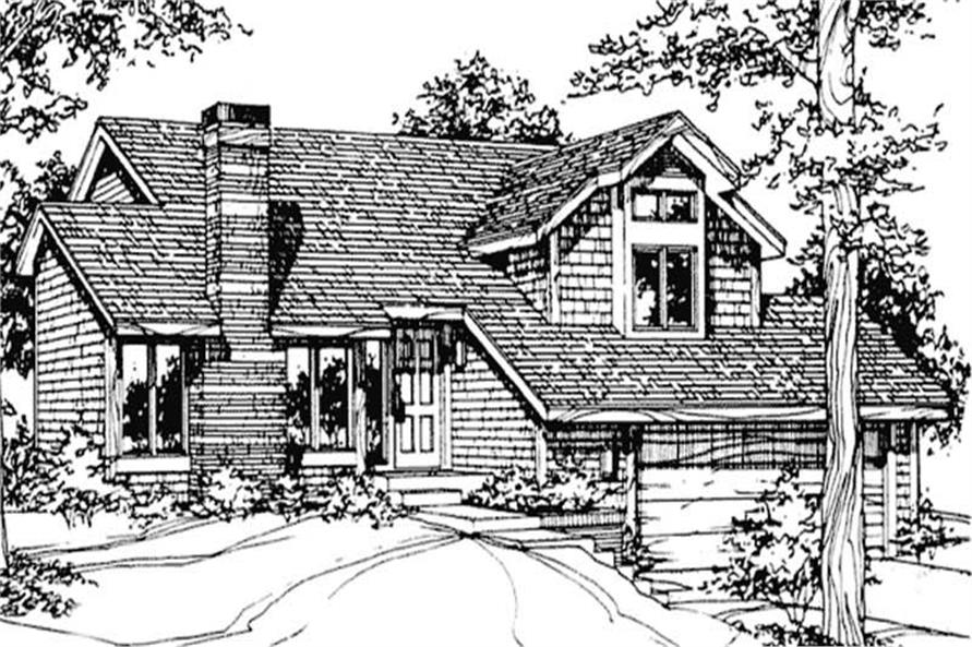 Main image for house plan # 21469