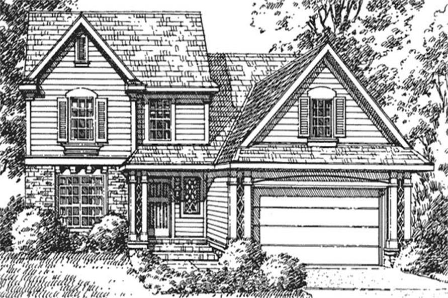 Main image for house plan # 21316
