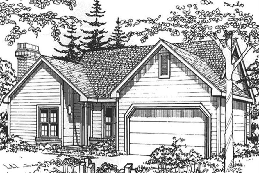 Main image for house plan # 21448