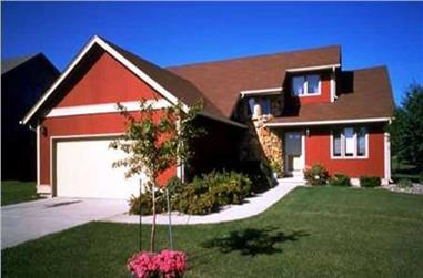2-Bedroom, 1498 Sq Ft Craftsman Home Plan - 146-2690 - Main Exterior