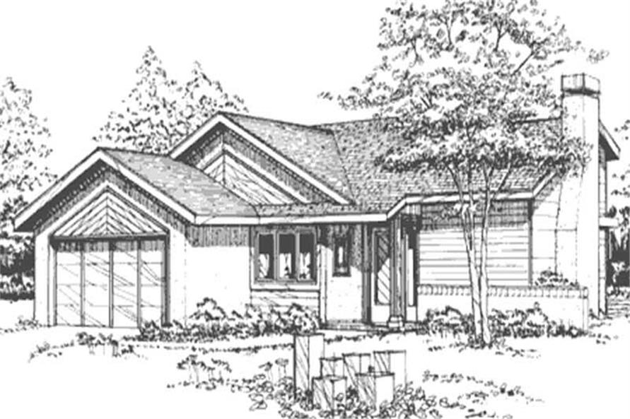 Main image for house plan # 21451