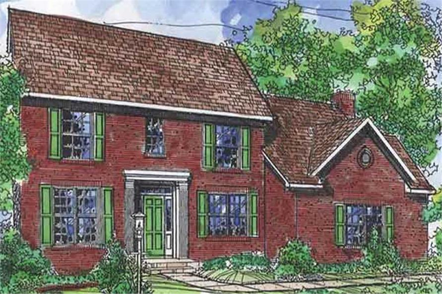 Main image for house plan # 21353