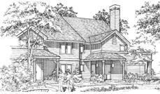 Main image for house plan # 21386