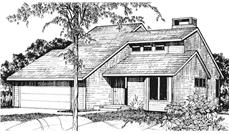 Main image for house plan # 21468