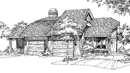 Main image for house plan # 21465