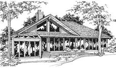 Main image for house plan # 21459