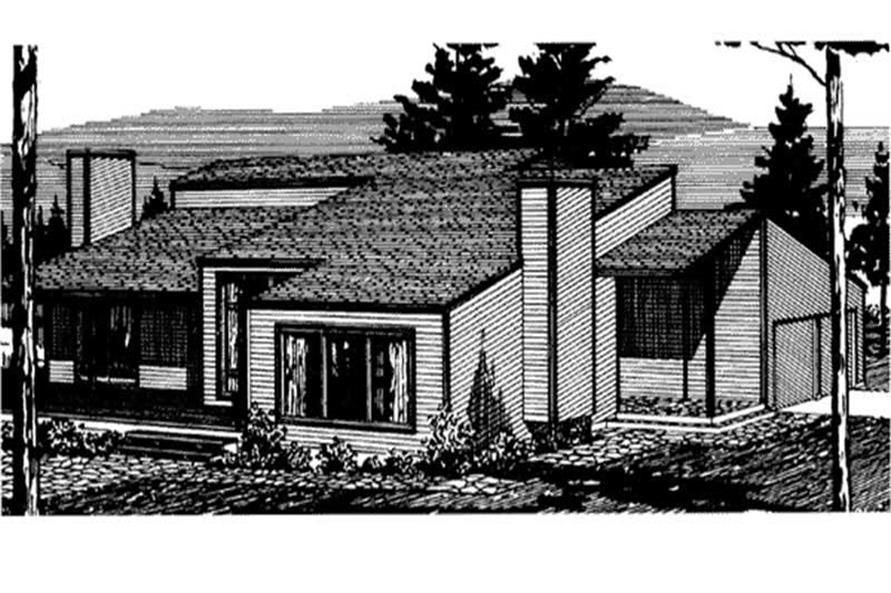 Main image for house plan # 21309