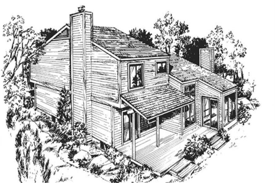 Main image for house plan # 21305
