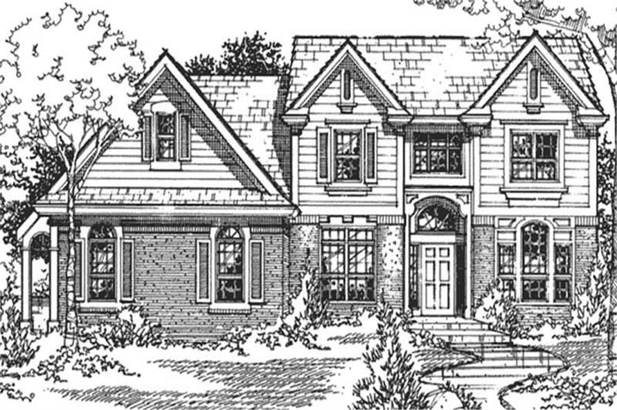 Main image for house plan # 21311