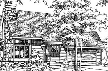 3-Bedroom, 1664 Sq Ft Ranch House Plan - 146-2716 - Front Exterior