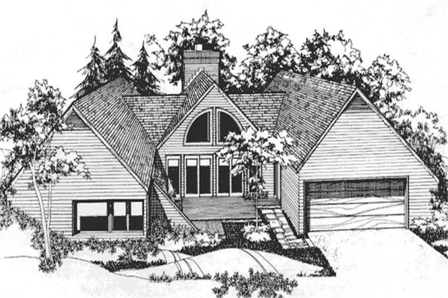 Main image for house plan # 21519