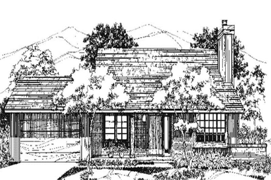 Main image for house plan # 21520