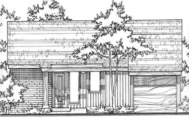 Main image for house plan # 21523