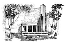 Main image for house plan # 21515