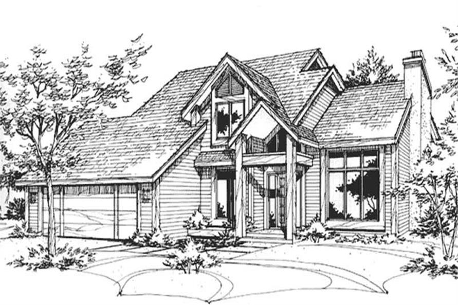 Main image for house plan # 21403