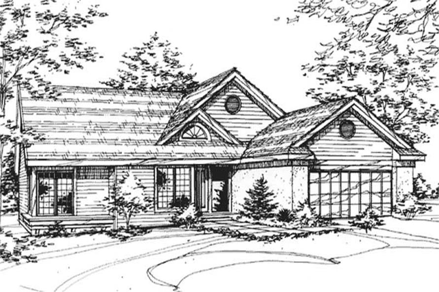 Main image for house plan # 21424