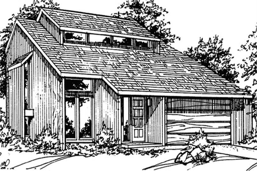 Main image for house plan # 21460