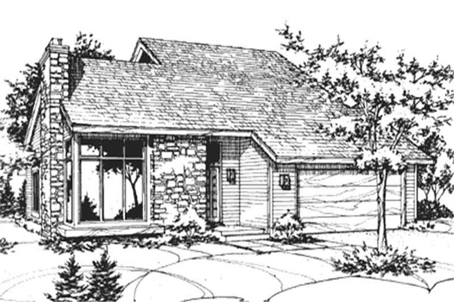 Main image for house plan # 21402