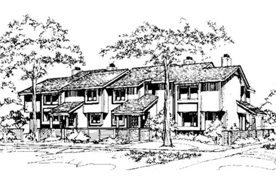 146-2745: Home Plan Rendering