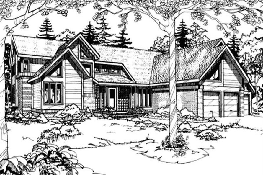 Main image for house plan # 21485