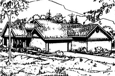Main image for house plan # 21464