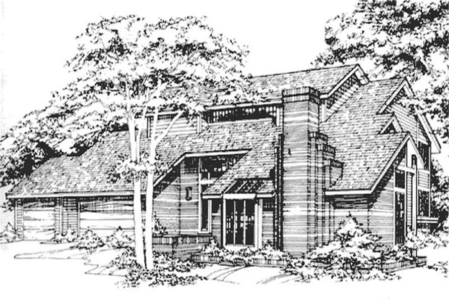 Main image for house plan # 21493
