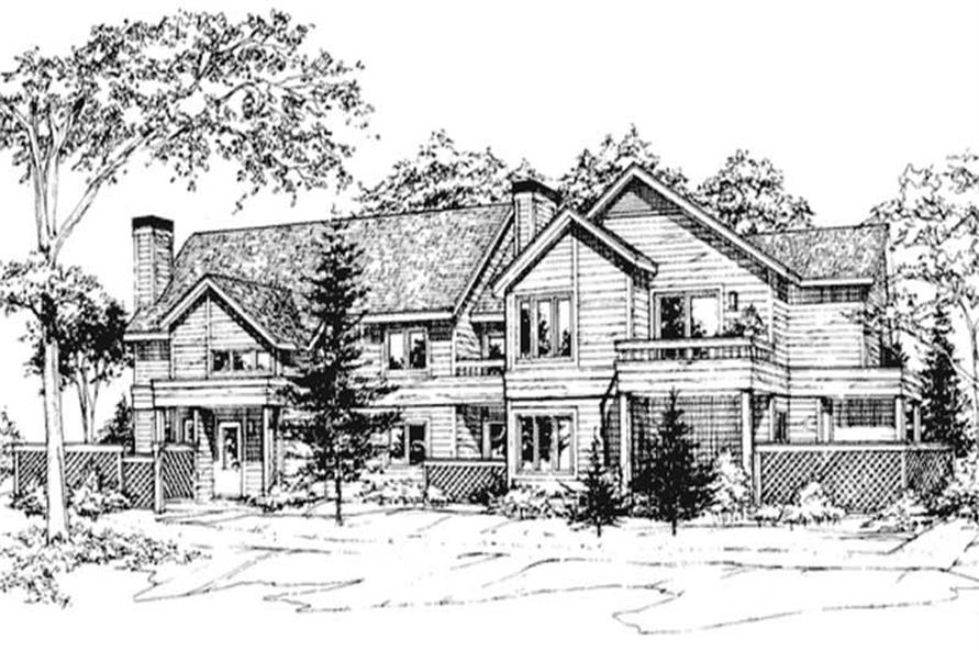 Main image for house plan # 21492