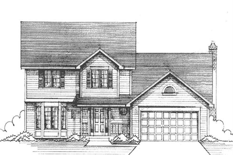 Main image for house plan # 21255