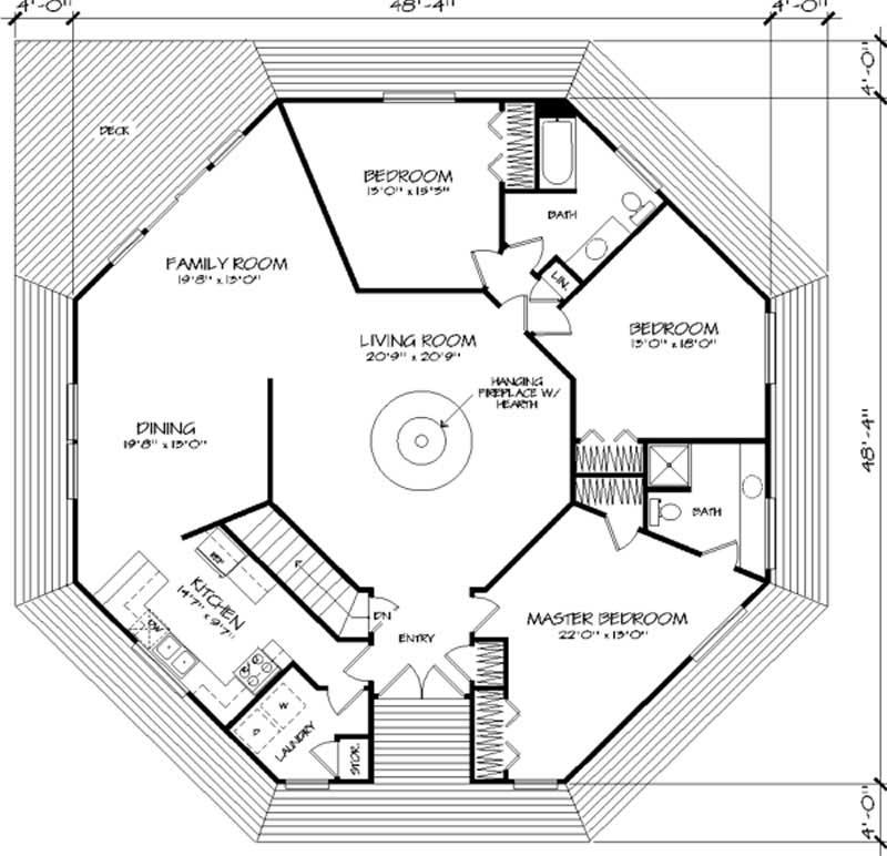 Design Homes Floor Plans: Home Design LS-H-924-1