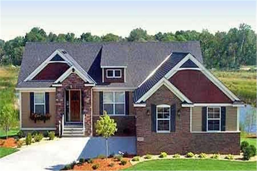 Home Exterior Photograph of this 2-Bedroom,1728 Sq Ft Plan -1728