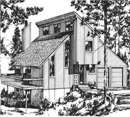 House Plan #146-2799