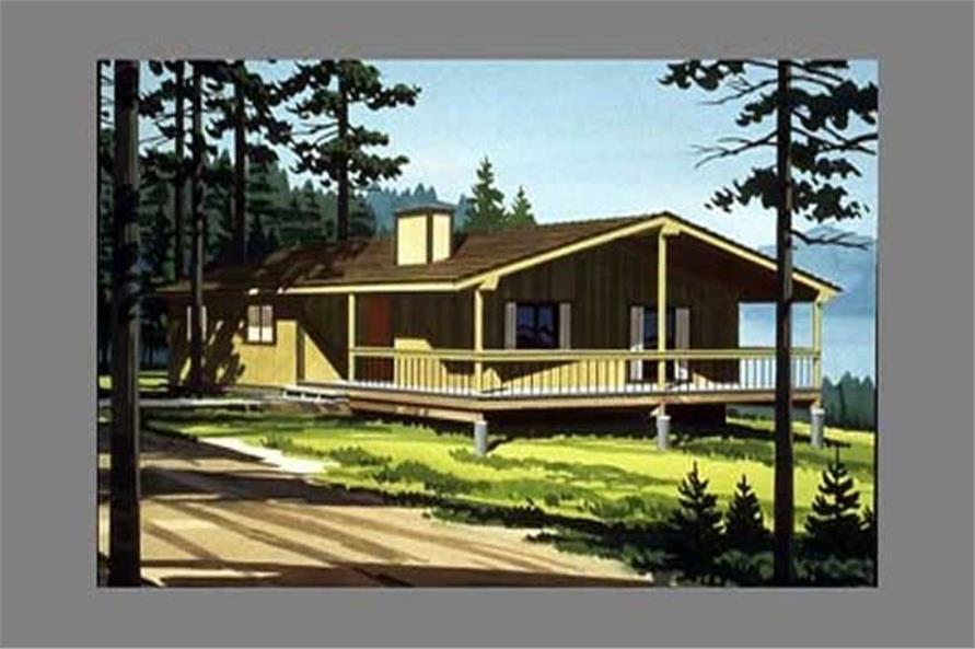 Color Rendering to these house plans