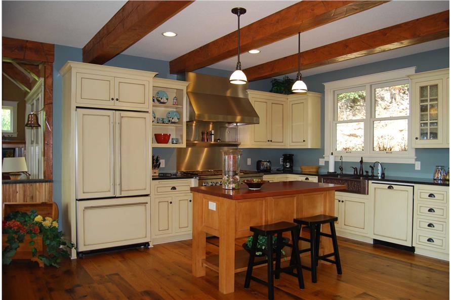 146-2810: Home Interior Photograph-Kitchen