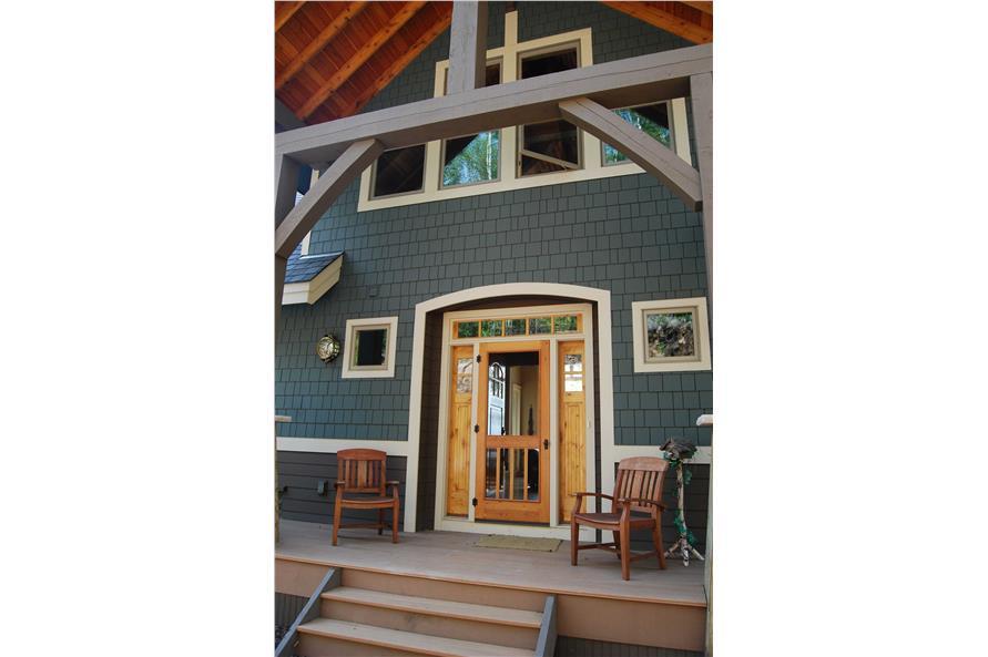 146-2810: Home Exterior Photograph-Front Door