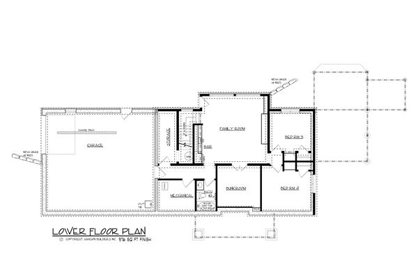 146-2810: Floor Plan Basement
