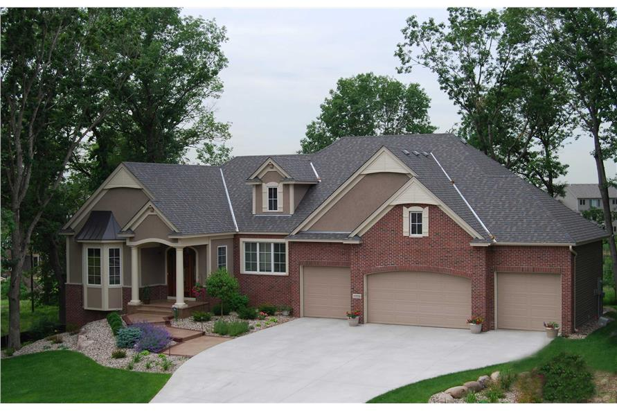 Home Exterior Photograph of this 3-Bedroom,4726 Sq Ft Plan -4726