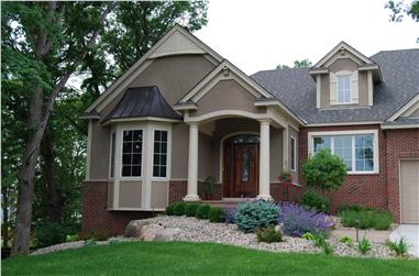 3-Bedroom, 4726 Sq Ft European Home Plan - 146-2811 - Main Exterior